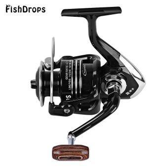 Fishdrops ขนาด 1000-7000 รอกตกปลาโลหะหมุนด้วย 13BB คลัตช์ทางเดียว