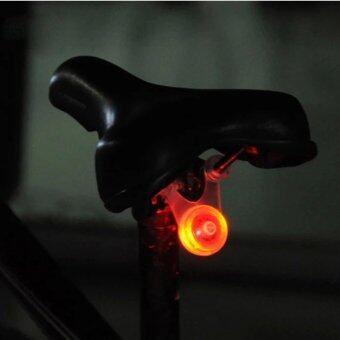 Harga Bike Light Bicycle Cycling Head Front Rear LED Flash Lights Lamp Plastic Safety Warning Caution Light - intl