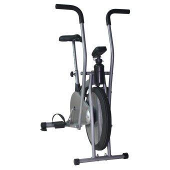 Fitmaster จักรยานนั่งปั่น จักรยาน Air Bike เครื่องออกกำลังกาย รุ่น YK-B16I-1 (สีเทาเงิน)