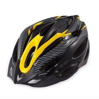 iremax หมวกจักรยานพร้อมกะบังหมวก รุ่น H-18 ( Yellow )