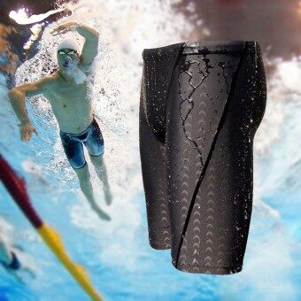 คนใส่ชุดว่ายน้ำหนังว่ายน้ำ