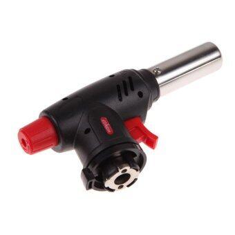 Living หัวพ่นไฟขนาดเล็กแบบไกปืน ต่อกับแก๊สกระป๋อง สำหรับจุดเตาถ่าน ชนิดจุดไฟที่ไกปืน รุ่น HF- 301