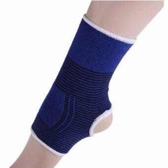 Kinglion Sport ผ้ารัดข้อเท้าสีน้ำเงิน1คู่ ผ้าบรรเทาอาการปวดข้อเท้า ผ้ายืดรัดข้อเท้า BLUE Advanced Adjustable Ankle Strap (1 PAIR)