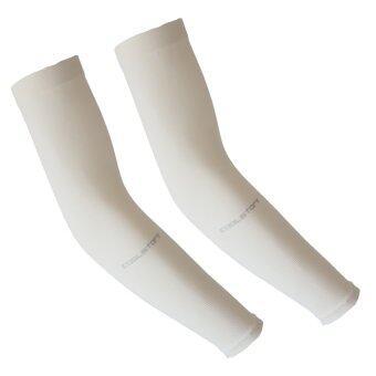Coolstory ปลอกแขนกันแดด กันยูวีจากเกาหลี(Ivory)-Free size