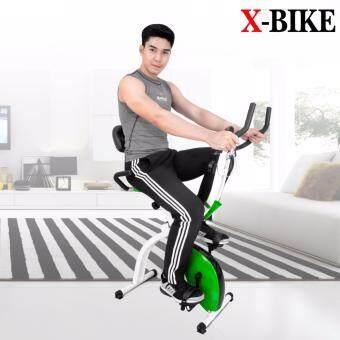 Replica Shop จักรยานออกกำลังกายระบบแม่เหล็ก X-bike ( สีเขียว )