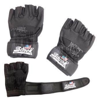 Schiek ถุงมือยกน้ำหนัก ถุงมือฟิตเนส รุ่น Cool Black