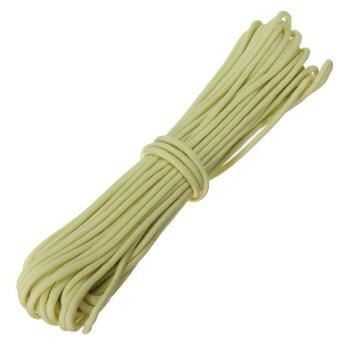 Harga 550LB Luminous Glow in the Dark Nylon Paracord Parachute Cord 9 Strand Core 50FT