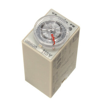 Harga DC 12V Delay Timer Relay Power on Time 0~60 Minute Solid Delay Socket H3Y-2 Base