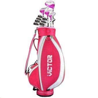 PGM VICTOR GOLF CLUBS SET with bag Graphite Lady (ครบชุด)