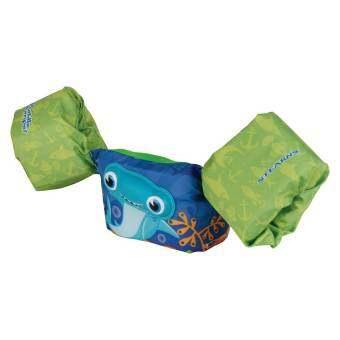 ชูชีพว่ายน้ำสำหรับเด็ก COLEMAN Stearns Kids Puddle Jumper Swimming Life Jacket Vests ลาย 3D Shark