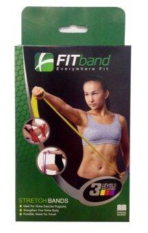FITband ยางยืด ออกกำลังกาย 3 ระดับ - กล่องเขียว