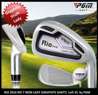 Harga Iron Club Rio No 7 Graphite Shaft (LADY) by PGM