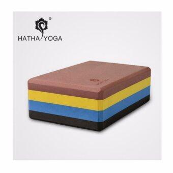 HATHA YOGA, บล๊อกโยคะ ดีไซด์แตกต่าง, High density, ลิขสิทธิ์เฉพาะของ Hatha Yoga ทนทาน ขอบโค้งมน กันลื่น และไม่เป็นพิษ เป็นมิตรต่อสิ่งแวดล้อม