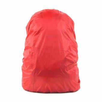 ผ้าคลุมกระเป๋า กันน้ำ 45-65 ลิตร-สีแดง