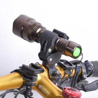 โคมไฟ Led อเนกประสงค์รถจักรยานโอ้ไฟฉายไฟฉายใส่วงเล็บตัว 360 ° Rotation