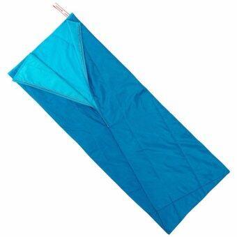 ถุงนอน คุมอุณหภูมิ ม้วนเก็บได้ ตั้งแคมป์รุ่น ARPENAZ 25 (สีฟ้า)