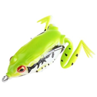 Harga Freshwater Ray Frog Fishing Lure Hooks Fish Bait Tackle