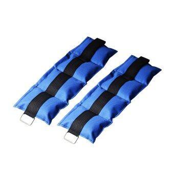 ถุงทรายถ่วงน้ำหนัก 2LB (1.0 kg) (สีน้ำเงิน)