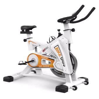 B&G SPIN BIKE จักรยานออกกำลังกาย Exercise Fitness Spin Bike Commercial Grade ระบบสายพาน (White) - รุ่น S306