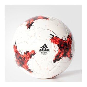 ADIDAS ลูกฟุตบอล รุ่น CONFED GLIDER - AZ3188-5 (WHITE/BRIRED/RED/BLA)