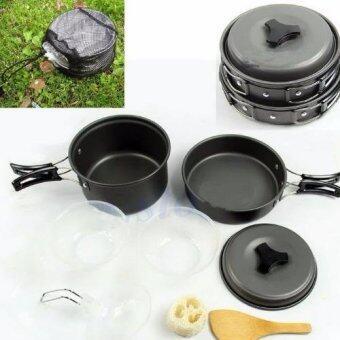 ชุดครัวอุปกรณ์แคมปิ้ง 6ใน1 6-in-1 Mini Outdoor Cooking Picnic Tools Set (Black) 6-in-1 Mini Outdoor Cooking Picnic Tools Set (Black) รุ่น SY-200