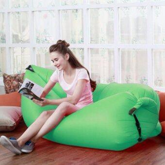 awei168thai Lambag Original Hangout Air Sofa โซฟาลม โซฟากล้วย ที่นอนเป่าลม เตียงลมแบบพกพา อเนกประสงค์ พร้อมเป้สะพาย