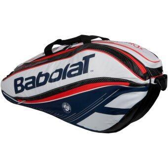 Babolat กระเป๋าใส่อุปกร์ณเทนนิส PURE FRENCH OPEN RACKET HOLDER X 6 (สีแดง/สีขาว/สีน้ำเงิน)