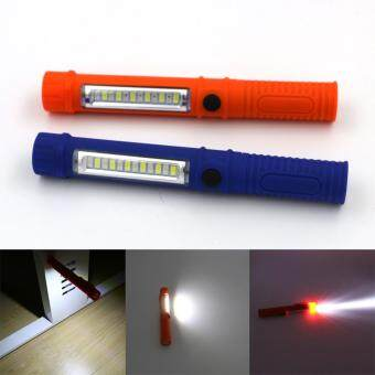 Sanyi ไฟฉายยาวแบบพกพา Led Portable Plastic สว่างจับใจ รุ่น WY6697-WY6698 สามารถใช้ถ่าน AAA