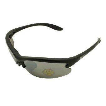 Daisy C3 แว่นกันแดด เปลี่ยนเลนส์ได้ คลิปเลนส์สายตา (Black)
