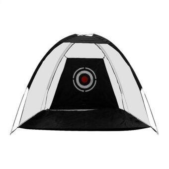 Kinglion Sport ตาข่ายซ้อมไดร์ฟกอล์ฟ 3 เมตร ตาข่ายซ้อมไดร์ฟสีดำ ตาข่ายกอล์ฟ อุปกรณ์ฝึกกอล์ฟด้วยตัวเอง อุปกรณ์กอล์ฟ Golf Net Practice Driving Net Golf Hitting Net with Target for Indoor / Outdoor