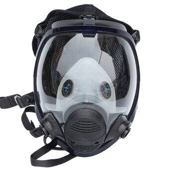 ฉีดสีเดียวกันใบหน้าเต็มสูทก๊อกปิดหน้ากากช่วยหายใจ