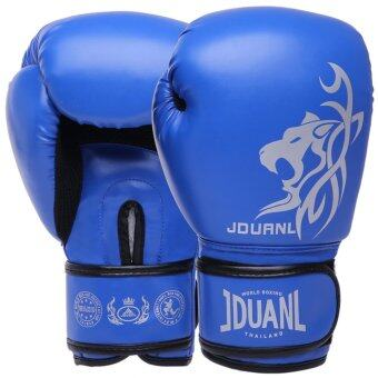 Harga Boxing Gloves Adult Squat Fist Professional Competition Muay Thai Fight Training Sandbag Gloves - intl