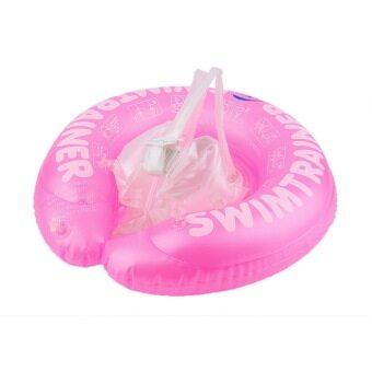 โอเด็กว่ายน้ำลอยคอว่ายไปทางรักแร้ฝึกว่ายวงขนาด S (สีชมพู)