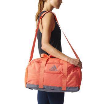 Adidas กระเป๋า อดิดาส Team Bag 3S PER S99996 COR Size S (1390)