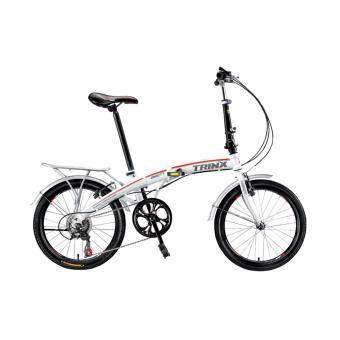 จักรยานพับ TRINX DS2007 สีขาว
