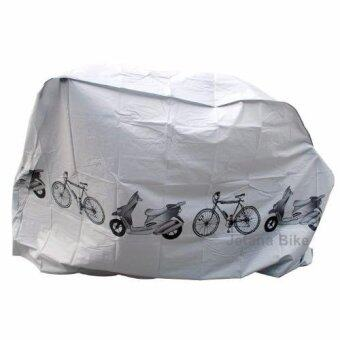 Jetana ผ้าคลุมจักรยาน มอเตอร์ไซค์ กันฝุ่น กันUV กันน้ำ โพลีเอสเตอร์เหนียวทนทาน
