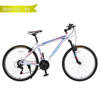 K-BIKE จักรยานเสือภูเขา 26 นิ้ว 21 speed SHIMANO รุ่น THOR 26K68 (สีขาว)