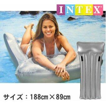 2561 Intex แพยางเป่าลมสีเงิน 59726