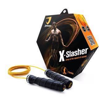 ซื้อ/ขาย JASON เชือกกระโดด รุ่น JS0459 ความยาว 2.8 ม. สีดำ-ส้ม