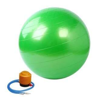 ประเทศไทย Kinglion Sport 75CM ลูกบอลโยคะผิวเรียบสีเขียว ลูกบอลออกกําลังกาย โยคะบอล ฟิตบอล ลูกบอลฟิตเนส ฟิตเนสบอล ยิมบอล อุปกรณ์ฟิตเนส ออกกําลังกายลดพุง Green Fitball Fitness Ball Yoga Ball Massage Ball