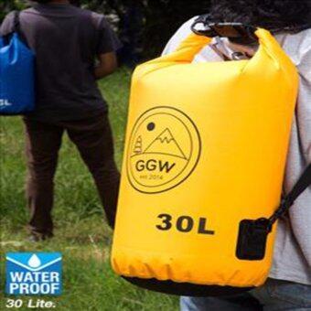 กระเป๋ากันน้ำ 30L : สีเหลือง