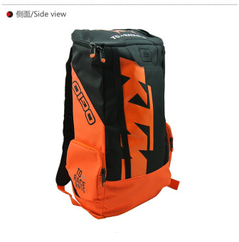KTM K-B261 Backpack for Motorcycle and Bike Riding Bag Fashion Outdoor Motorcycle Rider Equipment Package Black with Orange - Intl