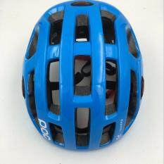 Leebicycle หมวกจักรยาน รุ่น POC (สีฟ้า)