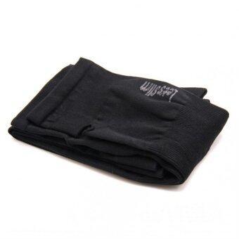 ประเทศไทย Let's Slim - ปลอกแขนกันแดด กันรังสี UV ใส่ออกกำลังกายกลางแจ้ง - สีดำ