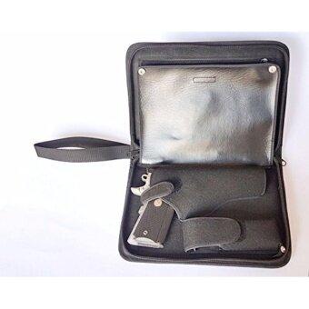 กระเป๋าใส่ปืนสั้นอย่างดีแบบผ้า m1911 beretta m92f sig glock ฯลฯ