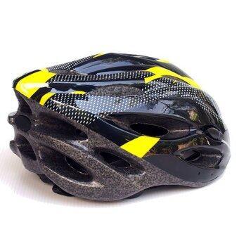 หมวกจักรยาน Macanic-V-101 (สีดำ/เหลือง) (image 2)