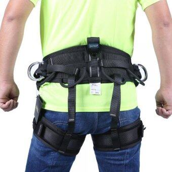 MagiDeal Rock Climbing Downhill Rappelling Rescue Harness SafetySitting Bust Belt - 2 ...