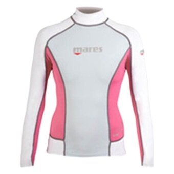 Mares Rash Guard Long Sleeve Woman -Pink