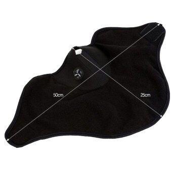 Mask หน้ากากกันฝุ่น กันลม กันแดด มอเตอร์ไซด์ จักรยาน ผ้าปิดจมูกรุ่น 001 ( สีดำ ) (image 2)