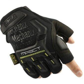 2561 Mechanix ถุงมือ ดำ